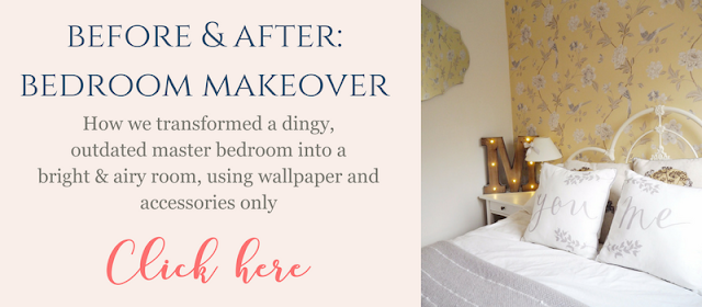 Before and After: Bedroom Makeover