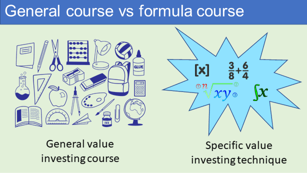 General vs formal course