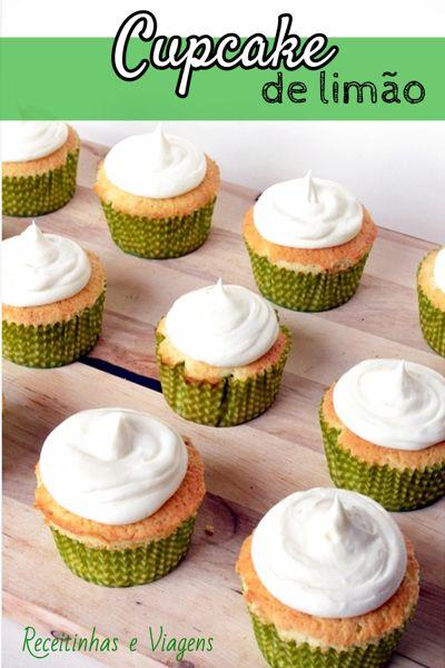 Cupcake fácil de limão: receita para o verão
