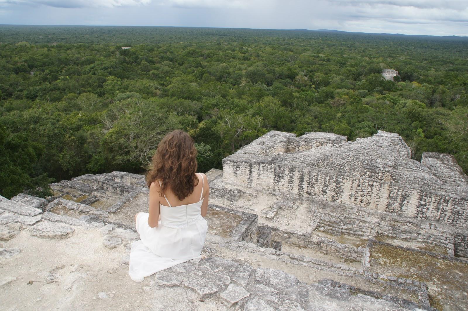 Najpiękniejsze piramidy Majow Meksyk