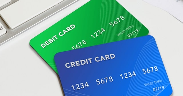 debit cards vs credit cards