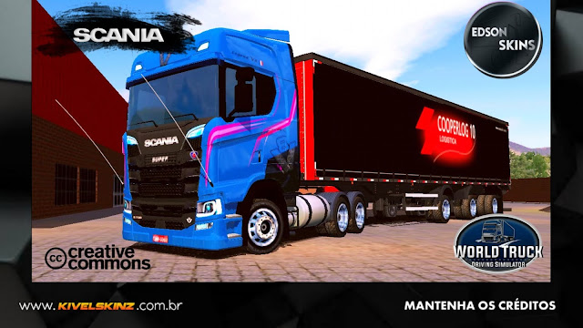 SCANIA S730 - LEGEND V8 BLUE