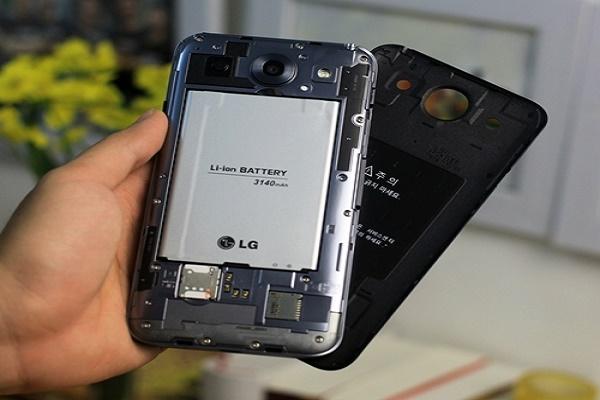 Thay pin LG G3