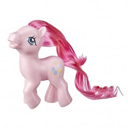 My Little Pony Pinkie Pie Retro Rainbow Pony Brushable