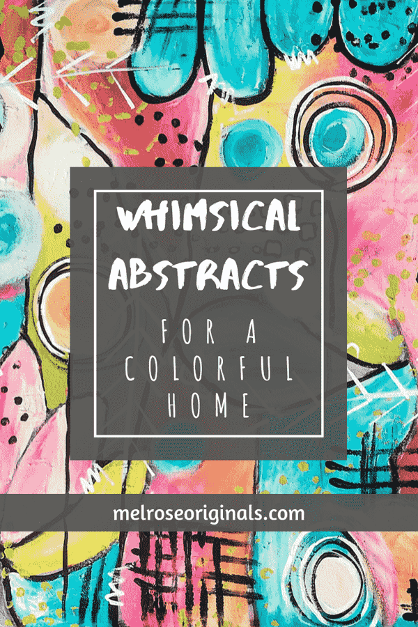 image of abstract art from color block home accents collection