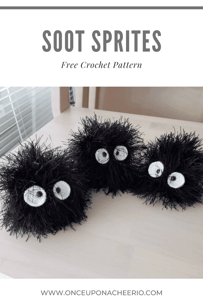 Soot Sprite Amigurumi FREE Crochet Pattern