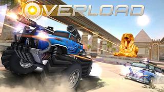 Download Overload 3D MOBA Car Shooting v1.1 Apk