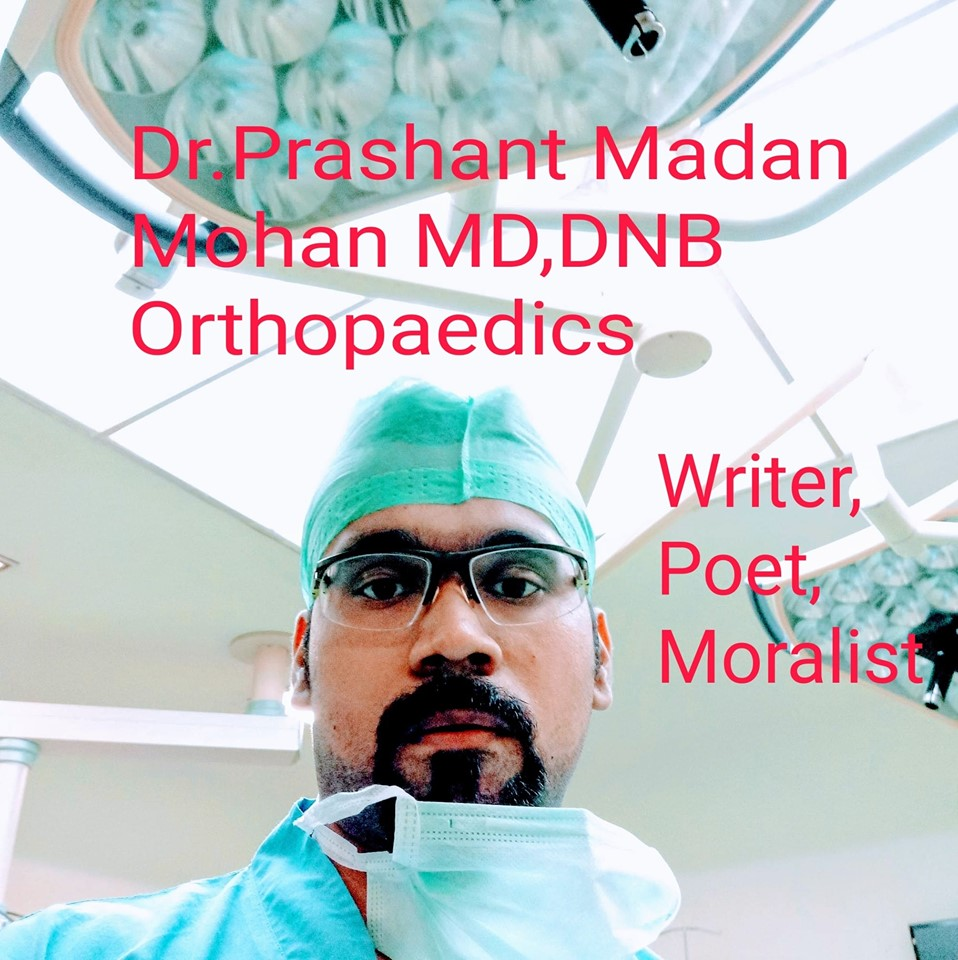 Orthopaedic Surgeon Poet Writer