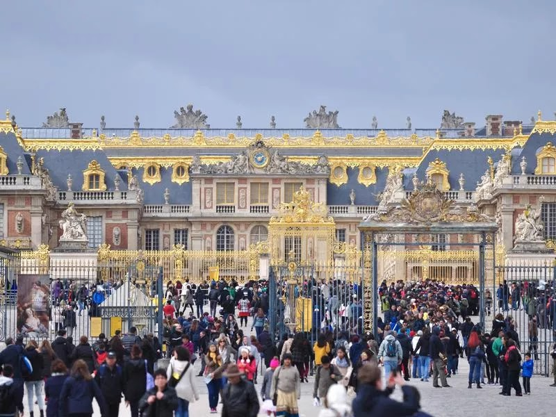 49. قصر فرساي - باريس ، فرنسا