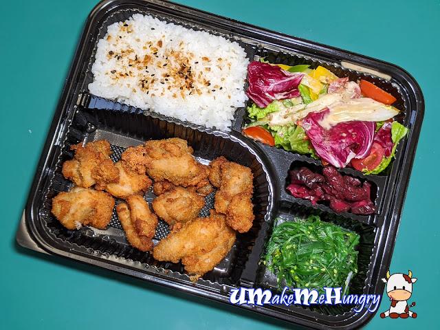 Chicken Karaage Set Bento