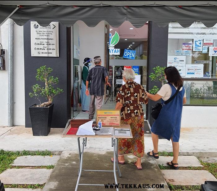 Poliklinik Hidayah Vaccine Center 1 Krubong Melaka