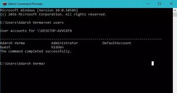 Cara Membuat User Account Rahasia dan Tersembunyi di Windows 10-5