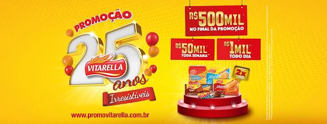 "Promoção ""25 anos irresistíveis Vitarella"" Blog Top da Promoção #topdapromocao @topdapromocao www.topdapromocao.com.br  http://topdapromocao.blogspot.com sorteio facebook instagram twitter pinterest youtube"