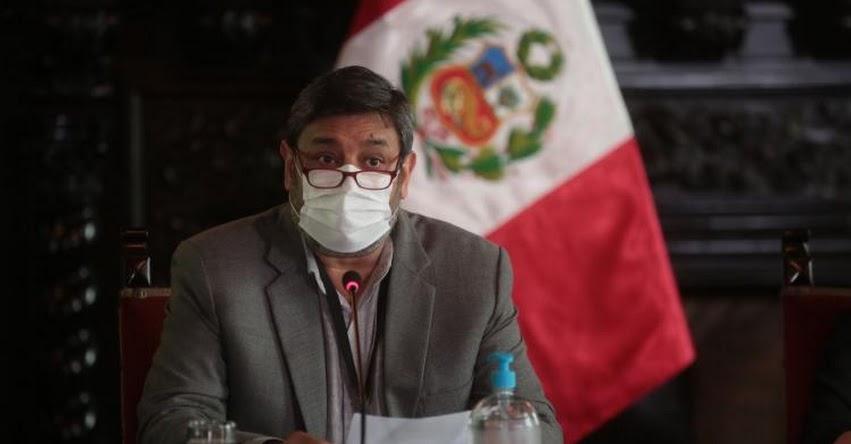 MINEDU: Norma técnica no implica retorno total e inmediato a las clases presenciales, informó el Ministro de Educación, Ricardo Cuenca