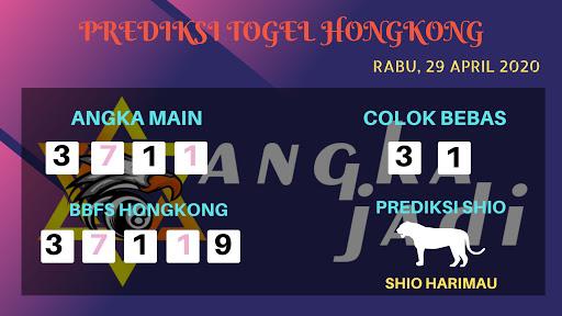 Prediksi HK 29 April 2020 - Prediksi Angka HK