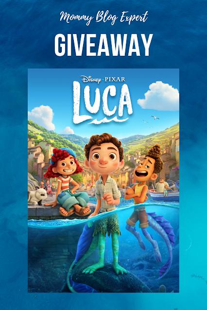 Disney Pixar Luca Movie Giveaway