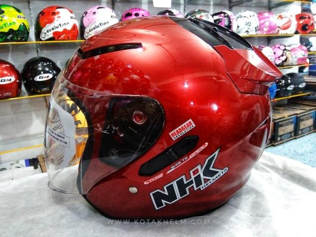Helm bagus dan murah NHK R1 Polos
