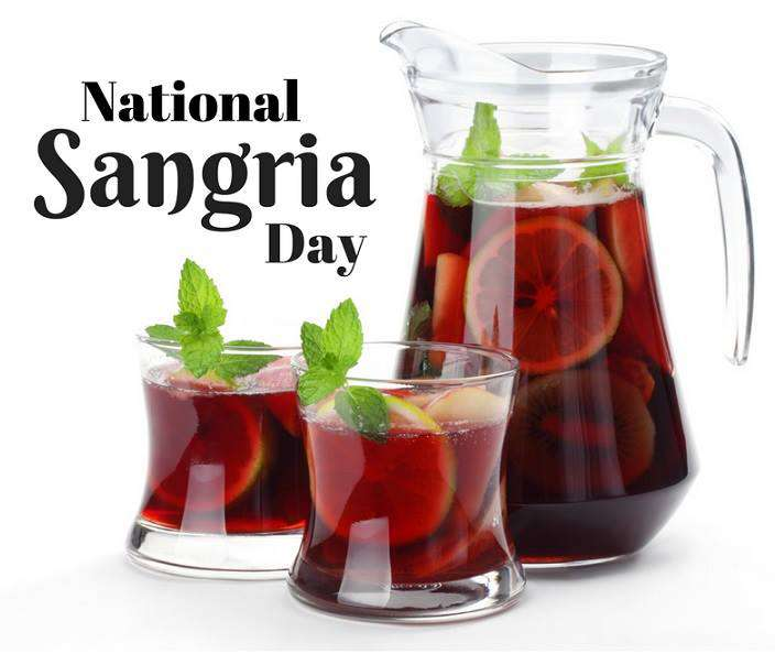 National Sangria Day Wishes Photos