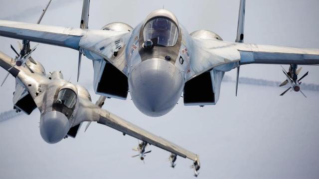 Ρωσικά Su-35 αναχαίτισαν τουρκικά F-16