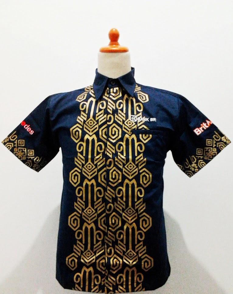 Baju Bengkel Batik BRI | BATIK LESTARI ™ | Pusat Batik ...