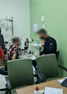 Falso médico oftalmologista é preso em flagrante atendendo paciente em clínica de São Luís