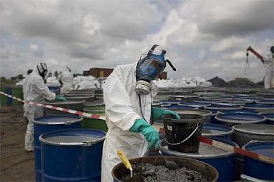 Industria y desechos tóxicos