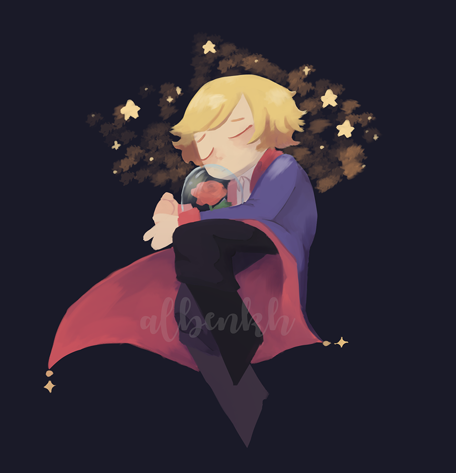 World Book Day 2021, little prince and rose