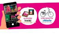 "Concorso Pink Lady ""More Pink More Green"" : vinci gratis buoni Tonky e bicicletta Atala"