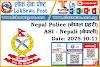 Nepal Police ASI Nepali 2075-10-11