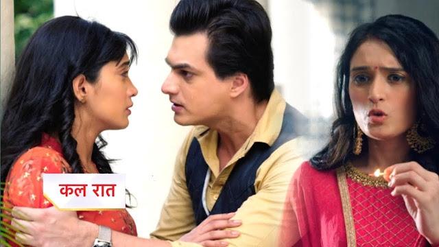 High Voltage Drama :  Guilt driven Vedika targets Kairav drama succeed  in YRKKH