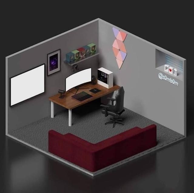 Konsep Desain Ruang Komputer Keren Untuk Freelance