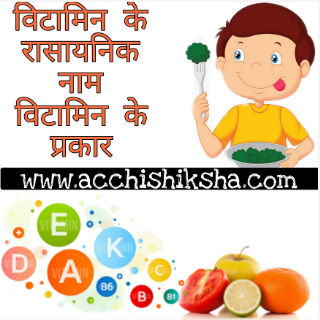 Vitamin K Chemical Name and Vitamin Ke Prakar in Hindi