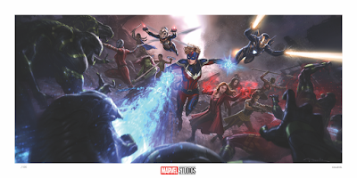 Concept Art of the Marvel Cinematic Universe Fine Art Prints Part 2 by Grey Matter Art