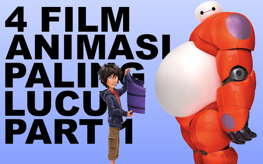4 FILM ANIMASI PALING LUCU PART 1 | FLIXDAILY - FLIXSERIES