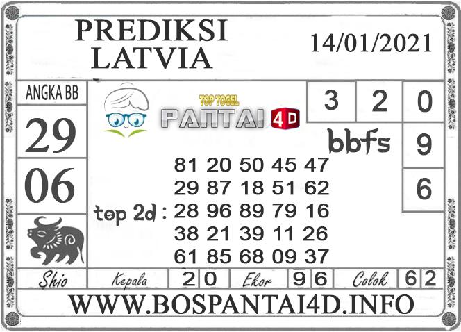 PREDIKSI TOGEL LATVIA PANTAI4D 13 JANUARI 2021