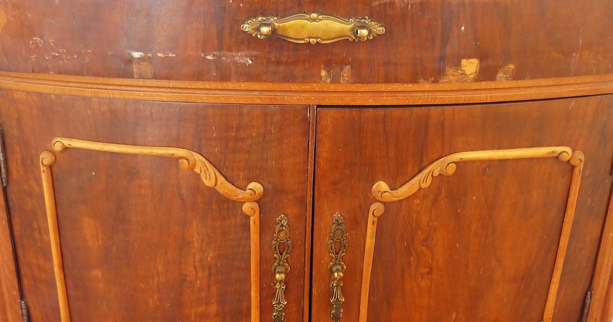 restauracion y decoracion de madera Limpiar el mueble con talla o grabado