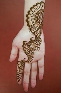 arabic easy mehendi designs