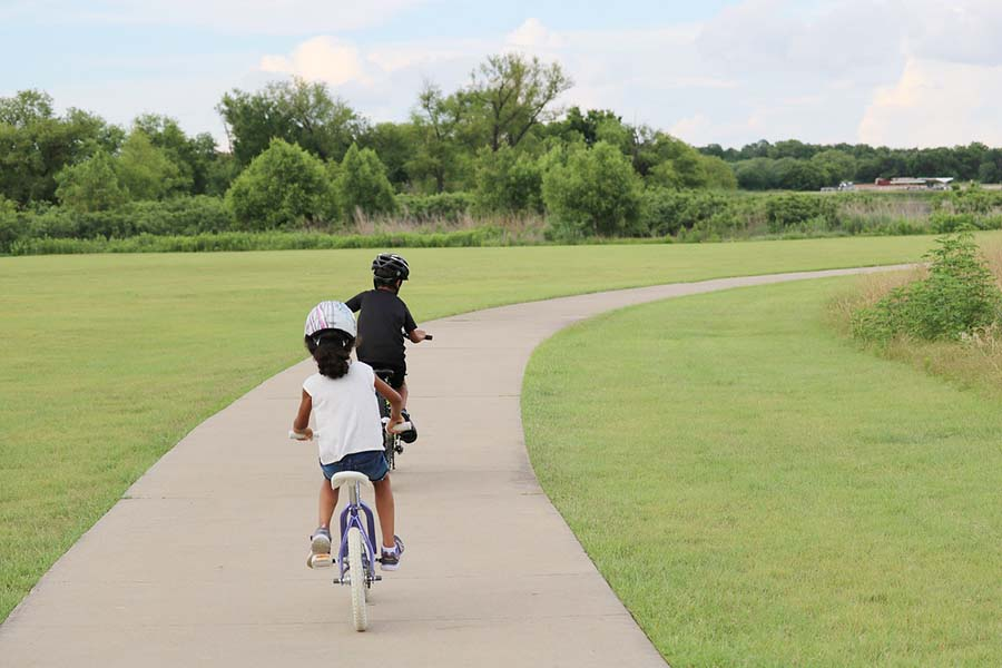 Urban Bicycling with Children