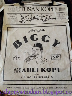 menu BIGGY & THE AHLI KOPI