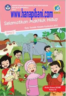 Download Buku Siswa K-13 Kelas 6 Semua Tema