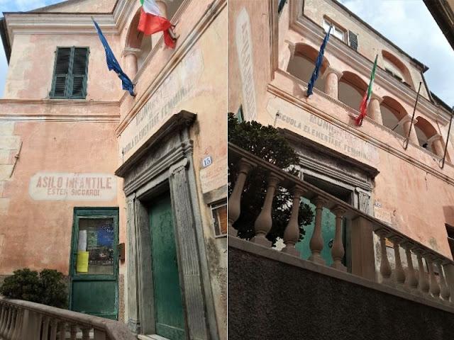 due immagini di palazzo morchio
