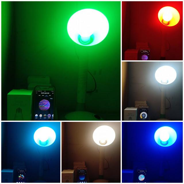 warna bardi smart light bulb