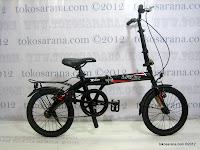 16 Inch Laux Milan Folding Bike