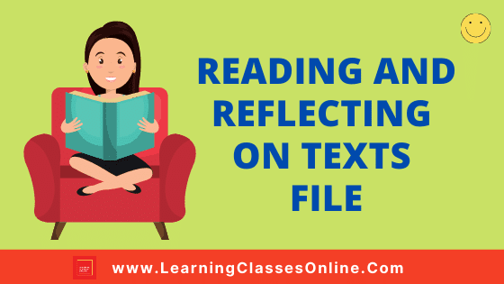Reading And Reflecting On Texts B.Ed 1st and 2nd Year / All Courses Practical File, Project and Assignment Notes in English Medium Free Download PDF | Reading And Reflecting On Text File | Reading And Reflecting On Texts B.Ed First and Second Year Practical File in English Medium Free Download PDF | Reading And Reflecting On Text Notes, Files, Assignment, Project and Text Book in English