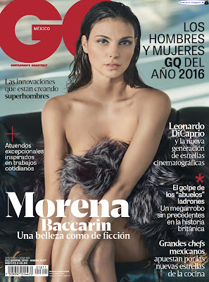 Morena Baccarin - GQ Mexico 2016 Diciembre (12 Fotos HQ)