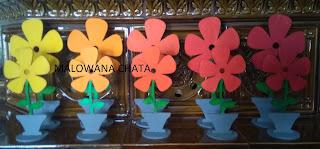Wiosenne Kwiatki kolorowe
