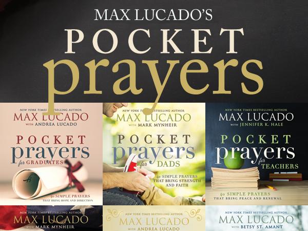 Max Lucado's Pocket Prayers {A Blog Tour & Book Review}