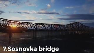 Sosnovka Bridge in real