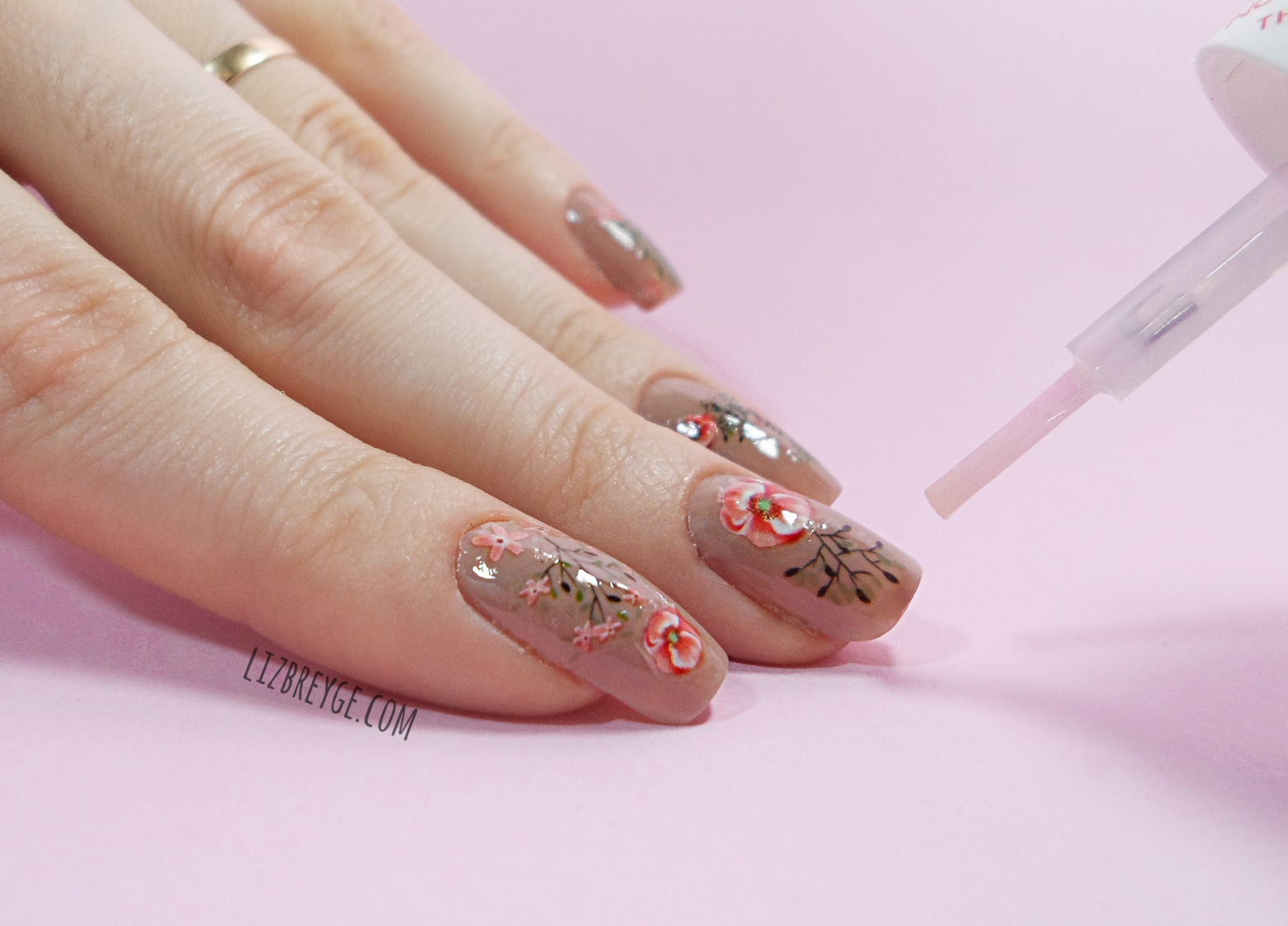 step by step nail art tutorial january girl born pretty store nail supplies