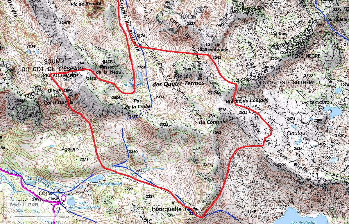 Carnet de route n 2 tour des 4 termes par diff rents cols - 6 route du bassin n 1 port de gennevilliers ...
